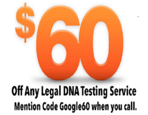$60 DNA Paternity Coupon