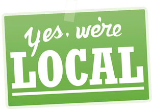 yes we're local